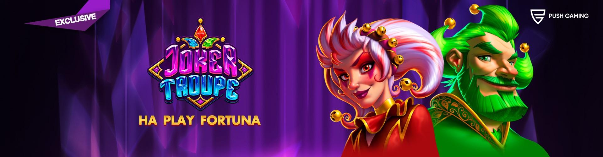 Joker Trouble в казино Плей Фортуна